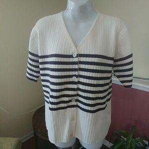 Liz Claiborne cotton sweater 1X